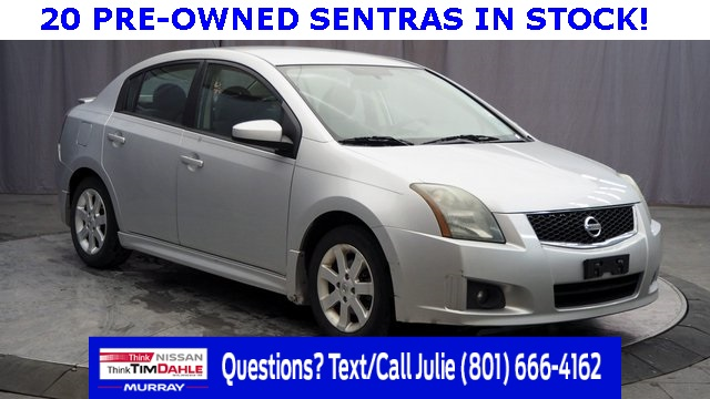 pre-owned 2009 nissan sentra 2.0 sr 4d sedan in murray #34307a | tim
