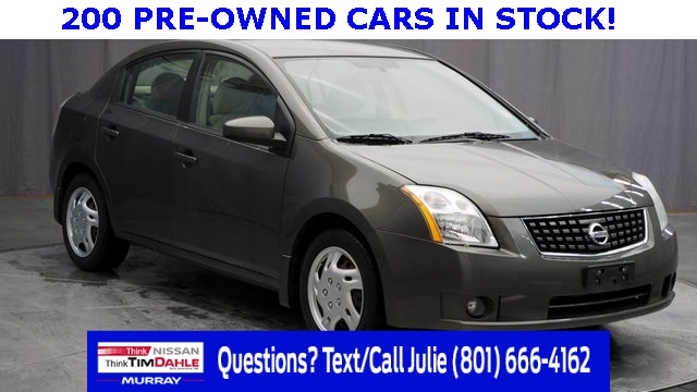 pre-owned 2009 nissan sentra 2.0 s 4d sedan in murray #34331a | tim