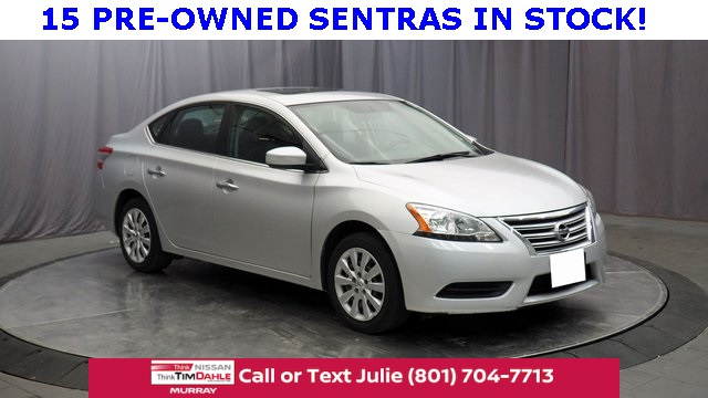 Pre-Owned 2013 Nissan Sentra SV